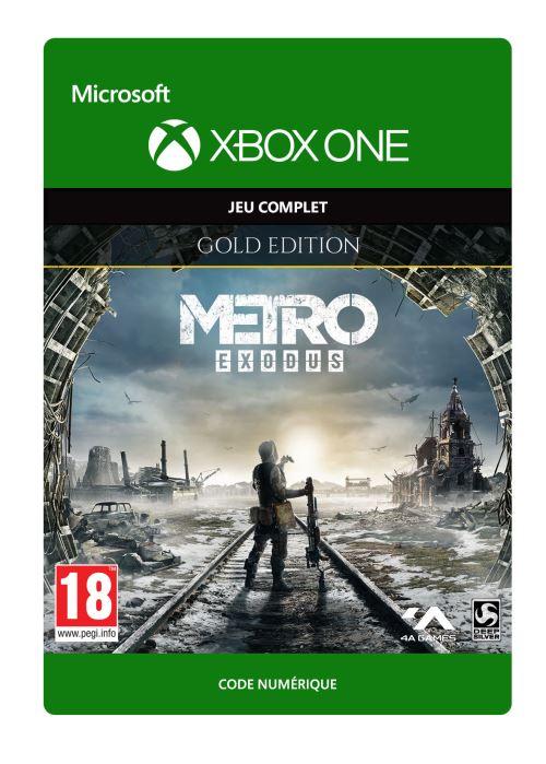 Code de téléchargement Metro Exodus Edition Gold Xbox One