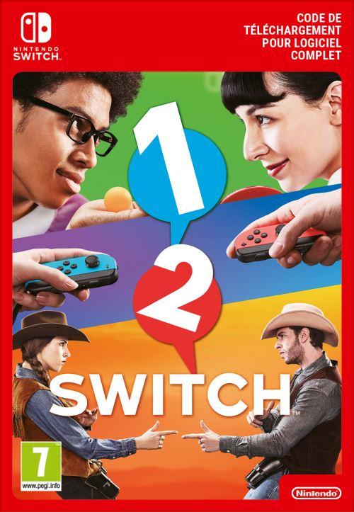 Code de téléchargement 1-2-Switch Nintendo Switch