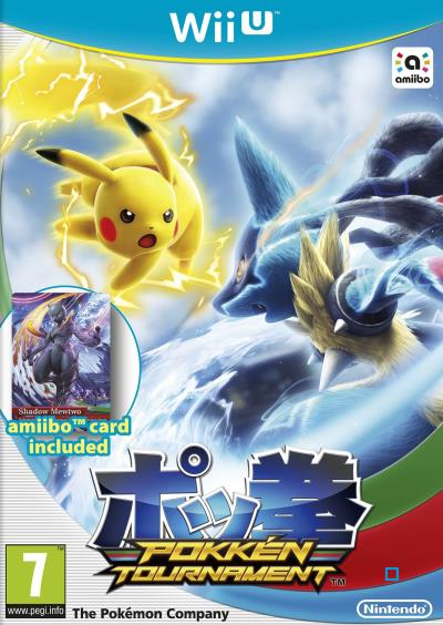 Pokkén Tournament Wii U + 1 Carte Amiibo