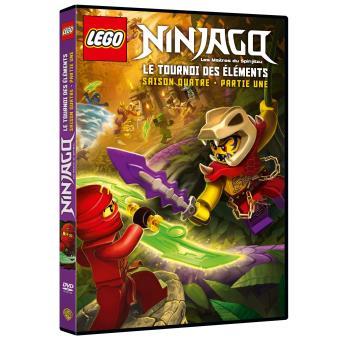 NinjagoLego Ninjago Saison 4 Partie 1 DVD