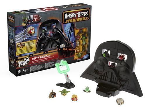 Hasbro Star Wars Angry Birds Jenga Darth Vader Game