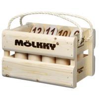 Molkky Tactic Deluxe-versie Bowlingset