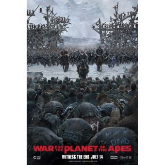 War For Planet Of The Apes -Bil