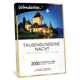 Coffret cadeau Wonderbox Mille et une nuits