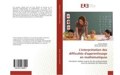 L'interprétation des difficultés d'apprentissage en mathématiques
