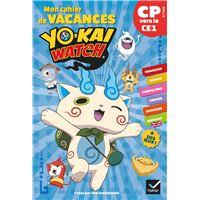 Mon cahier de vacances Yo-kai Watch CP vers le CE1