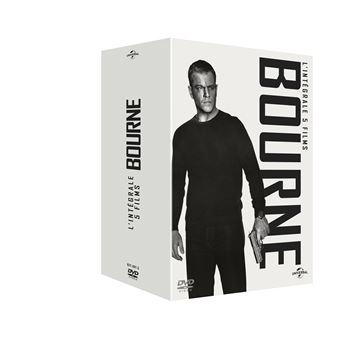 Jason BourneCoffret Bourne L'intégrale 1 à 5 DVD