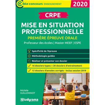 CRPE Première épreuve orale, Mise en situation professionnelle
