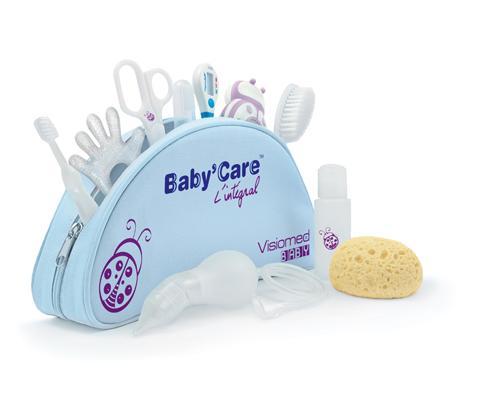 Trousse de toilette Baby'care Visiomed Baby L'intégral Trousse de 10 accessoires
