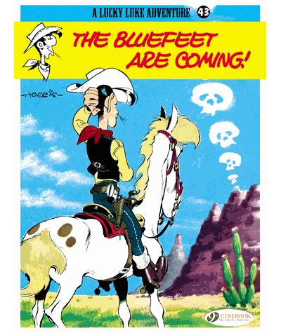 Lucky Luke - tome 43 The Bluefeet are coming !