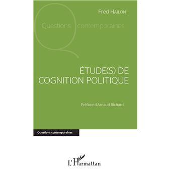 Etudes de cognition politique