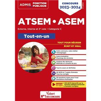 Concours ATSEM et ASEM, Tout-en-un, Catégorie C
