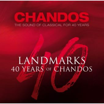 LANDMARKS 40 YEARS OF CHANDOS/40CD