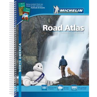 Atlas Norte America:  USA, Canadá e México