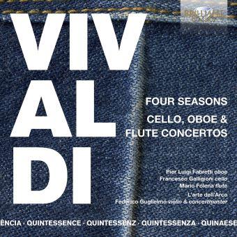 Vivaldi: Four Seasons and Cello, Oboe & Flute Concertos - 5CD