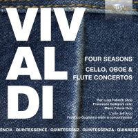 Vivaldi: Four Seasons and Cello, Oboe & Flute Concertos - 5CD