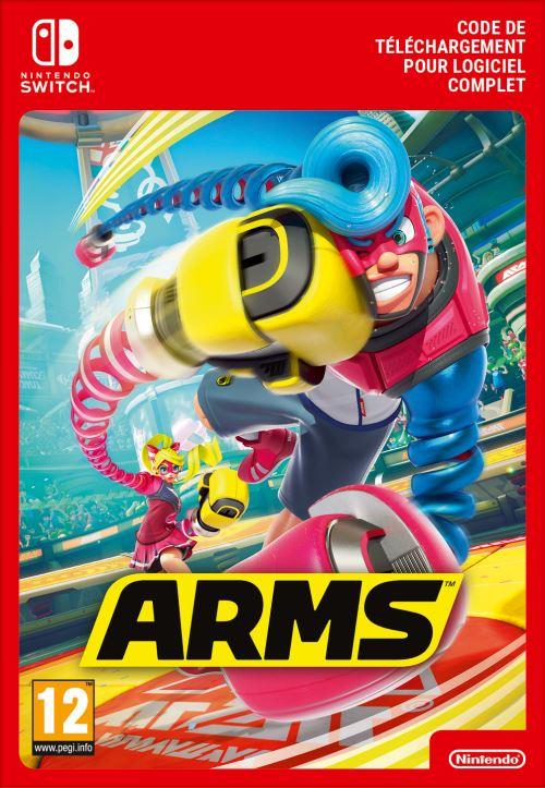 Code de téléchargement Arms Nintendo Switch