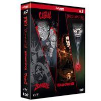 Coffret Cult'horror Volume 3 DVD