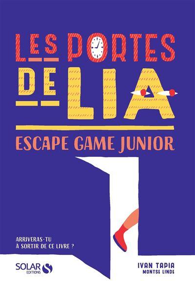 Escape Book/Game - Solar Escape-Game-Junior-Les-portes-de-Lia
