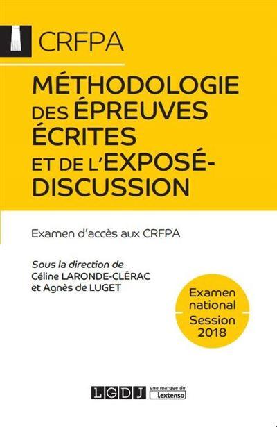Methodologie des epreuves ecrites et de l expose-discussion 2eme ed