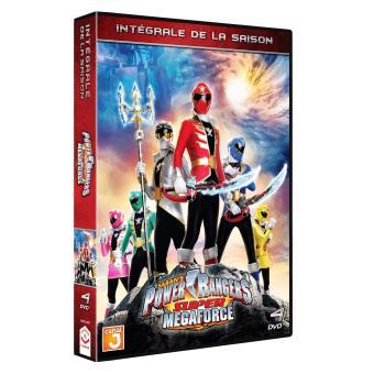 Power rangersPower Rangers Mega Force Saison 21 Coffret DVD