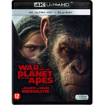 War For The Planet Of The Apes Bluray 4K