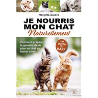 Je nourris mon chat naturellement