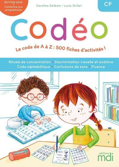 MDI - Codéo CP - Fichier code alphabétique + CD 2019
