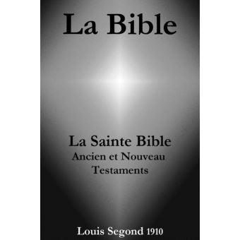 la bible en francais louis segond