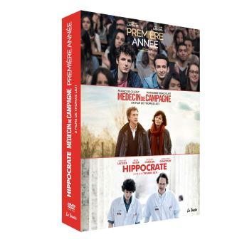 Coffret Trilogie de la médecine 3 Films DVD