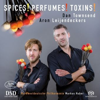 Spices perfumes toxins/pour 2 percussions & orchestre