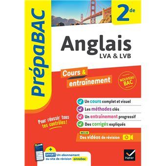 Anglais 2de Prepabac