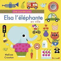 Une journée avec Elsa l'éléphante en ville