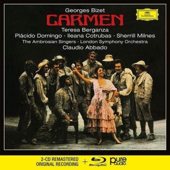CARMEN CD+BLURAY AUDIO