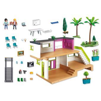 Moderne Luxevilla Maison Moderne Playmobil Fnac Be
