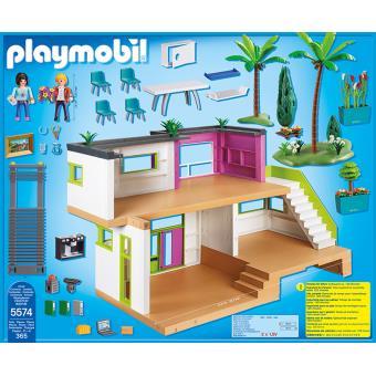 Playmobil City Life 5574 Maison Moderne Playmobil Achat Prix