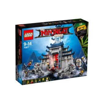 Lego ninjago 70617 le temple de l 39 arme ultime supr me - Ninjago les 4 armes d or ...