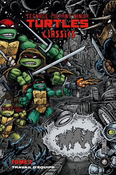 Les Tortues Ninja - TMNT Classics, T2 : Travail d'équipe
