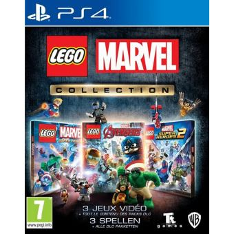 Lego Marvel Collection  FR/NL PS4