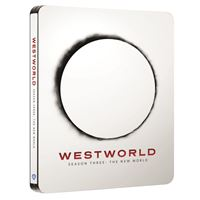 Westworld Saison 3 Steelbook Blu-ray 4K Ultra HD