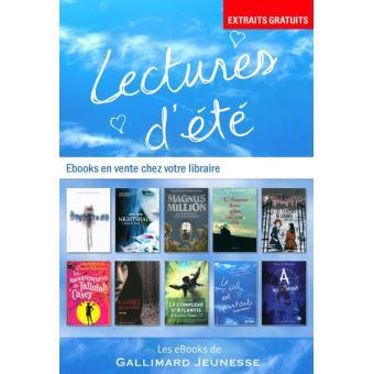 Extraits 10 Romans Gallimard Jeunesse Epub Jean