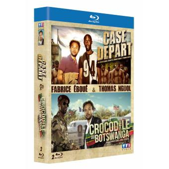 Le crocodile du Botswanga - Case départ Coffret 2 Blu-Ray