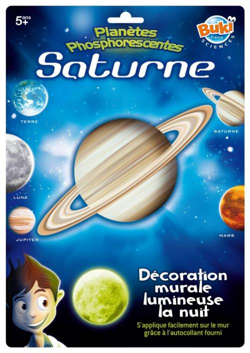 Décoration Murale Lumineuse Buki Saturne