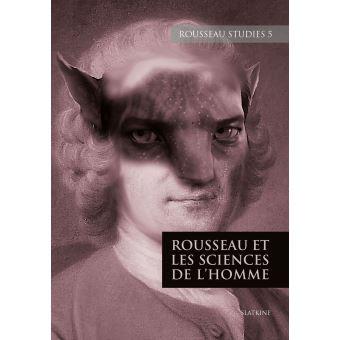 Rousseau studies,05:rousseau et les sciences de l'homme