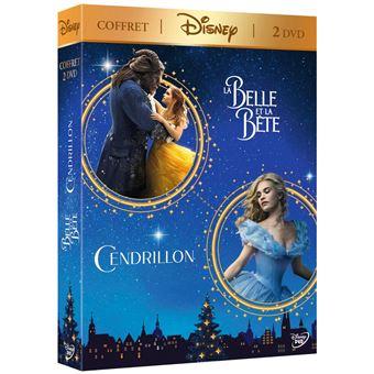 Coffret La Belle et la Bête Cendrillon DVD