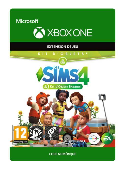 Code de téléchargement Les Sims 4 : Kit d'objets Bambins Xbox One