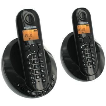 Téléphone fixe TELEFUNKEN TB252 NOIR DUO