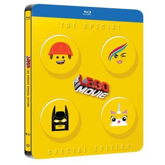 LEGOLego, La grande aventure Steelbook Blu-ray