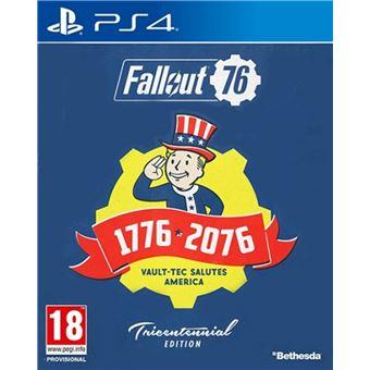 FALLOUT 76 TRICENTENNIAL EDITION FR/NL PS4