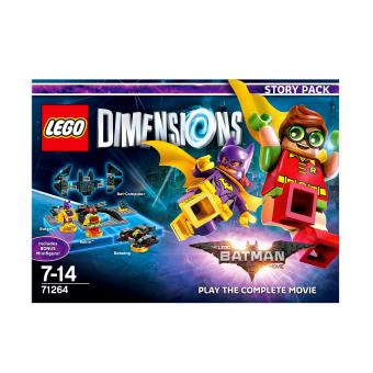 lego dimensions pack histoire the lego batman movie jeux vid o achat prix fnac. Black Bedroom Furniture Sets. Home Design Ideas